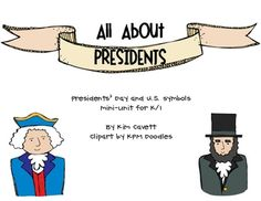A fun mini-unit learning all about our 1st and 16th president along with a writing project to learn about a president of your student's choice.