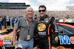 Tony Stewart and his Dad. Father's Day 2013