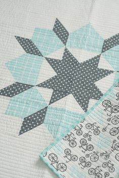 use one block for a baby quilt