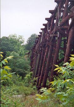 Dudley Park Trestle Bridge, Athens, GA