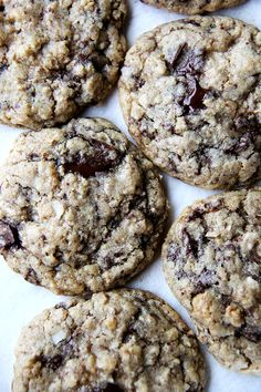 AK Cookies – these come from Peter Meehan and Lucky Peach. They are filled with oats, chocolate, coconut and walnuts, and they are utterly delicious.