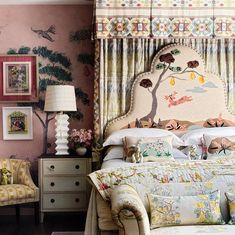 Kit Kemp at Bergdorf Goodman New York. British Design icon Kit Kemp and co-owner of Firmdale Hotels has launched her collaboration with…