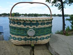 """""""Seaside Tote"""" pattern by Hurd, Bases to Weave"""