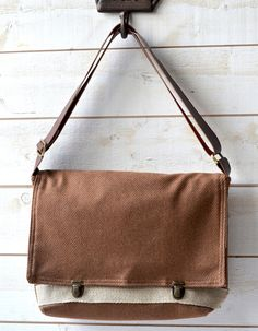 Unisex French Messenger bag for 13 inches Macbook air  bag