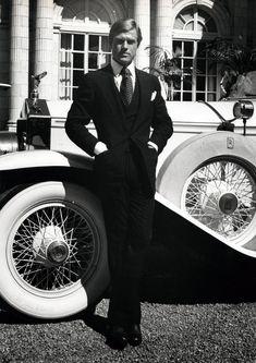 Robert Redford in Ralph Lauren.  The Great Gatsby.
