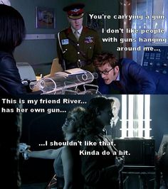 I love River Song!!