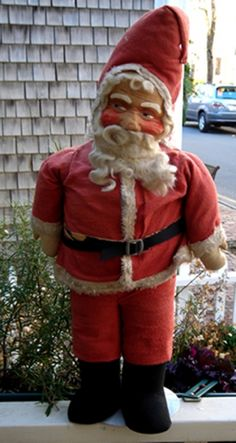 Vintage Christmas Collectible ~ Large Old Store Display Santa Claus