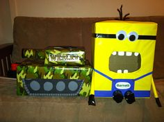our boy valentine boxes 2013
