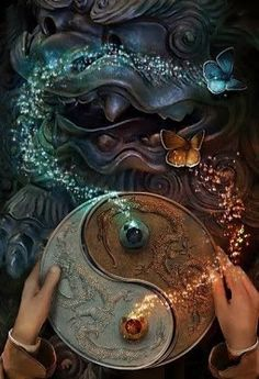 Balance and peace are key to overcoming problems, solutions come from insight, understanding, and clarity. Wisdom occurs in a balanced coming together of practice and study, emptiness and richness at the same time. Balance and Peace are an inherent state of being.