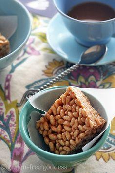 Gluten-free Rice Crispy Treats (from gluten-free goddess)