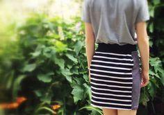 DIY - Double your stripes.