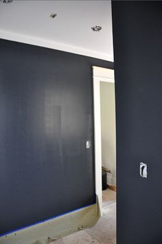 Paint on pinterest benjamin moore paint colors and for Deep space benjamin moore
