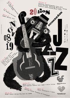 #Jazz #Posters #Type
