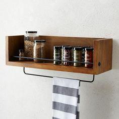 Rustic Shelf - Kitchen | West Elm