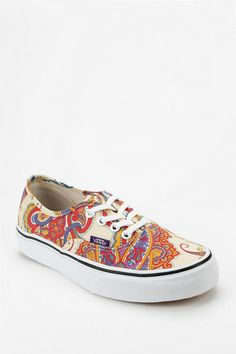 Vans X Liberty London Authentic Paisley Medallion Print Sneaker #urbanoutfitters