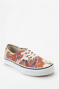 Vans X Liberty London Authentic Paisley Medallion Print Sneaker #urbanoutfitters