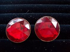 Vintage 1950s Red Victorian Retro Style by vintagecitypast on Etsy, $15.00