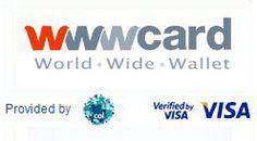brandind Visa virtual prepaid card, advanced way to make online payments @ E-dologic