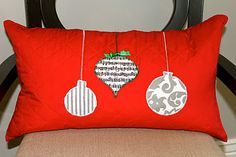 Christmas Pillow DIY