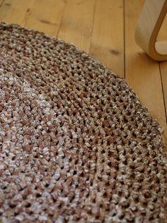 crocheted rag rug pattern on ravelry