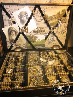 silverware chest into jewelry box