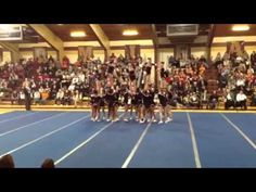▶ Penfield Varsity Cheerleading 2013 At States - YouTube - 2:10 idea for connected stunt