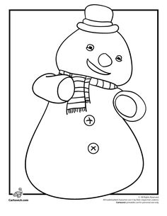 Doc Mcstuffins Coloring Page Snowman Chillyjpg | Apps Directories