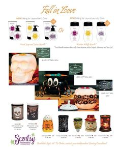 Scentsy Harvest 2014 Brochure ~ Check out the SET OF 3/Hand Soap & Hand Creams!!! Great scents! ORDER ONLINE ~ SHIPS DIRECT https://spollreisz.scentsy.us
