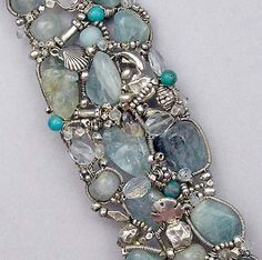 blue as the ocean bracelet
