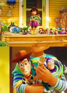 When Woody waved
