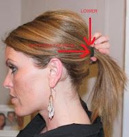 Poofy ponytail tutorial