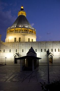 Built above the house of Mary and Joseph in Nazareth, the Basilica of the Annunciation is the Middle East's largest Christian sanctuary...