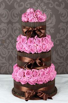 pink & brown