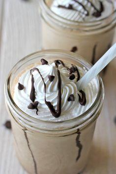 Mocha-Java Milkshakes