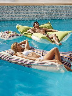 Float around the pool in style this summer.