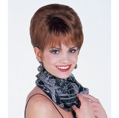 Elegance Wig - This high fashion updo starts out sleek & smooth but has a surprising twist that will take your breath away! Arrives pre-styled so you can look this fabulous with no salon and no effort! FInd this style & more @ thewigcompany.com