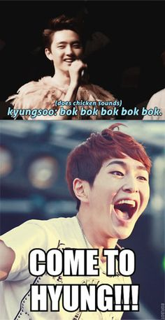 Funny Onew :D  There's never enough chicken in the world is there?