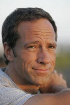 Mike Rowe:  Average dirty man.