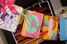 My Little Pony Birthday Banner - Rainbow Colors
