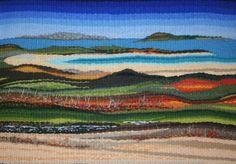 Connemara Landscape Tapestry Weave by Bernie Dignam