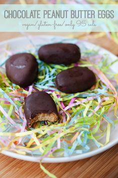 Homemade Chocolate Peanut Butter Eggs - Eating Bird Food – ENJI Daily #vegan #glutenfree