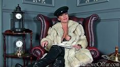 Mistress Ashleigh Embers call you into her elegant lounge for a simple task today: to admire her and lick her boots clean. Underneath her sharp cap and long blue fox coat, her long black leather thigh boots need your attention as she calmly sits and reads, what will you do with her???! More here - http://theloveoffur.com/