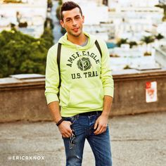 Meet Eric, an Outdoor Enthusiast from Philadelphia, Pa and winner of American Eagle Outfitters Project Live Your Life.