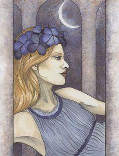 Freyja - Norse Goddess, associated with love, beauty, fertility, gold, seiðr (a type of sorcery), war, and death.