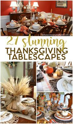 DIY table decor for