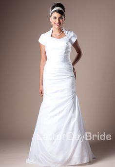 Wedding bridesmaids dresses on pinterest bridal for Latter day bride wedding dresses