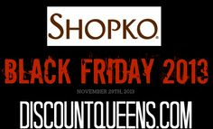 Shopko Black Friday Ad 2013!