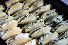 spinach stuffed shells   # Pin++ for Pinterest #