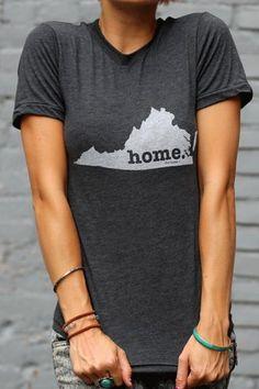 Virginia Home T Shirt | The Home. T | Bourbon & Boots