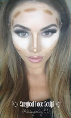 {kissable complexions} Non-surgical nose job and face sculpting tricks